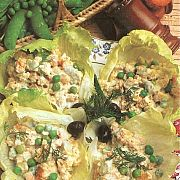 Etimekli Bezelye Salatası