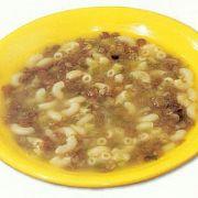 Mercimekli Makarna Çorbası