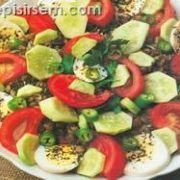 İç Açıcı Mercimek Salatası