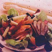 Füme Alabalık ve Pancar Salatası