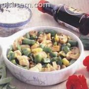 Sebzeli ve Soyalı Piliç