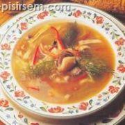 Soya Soslu Deniz Ürünleri Çorbası