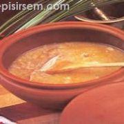 Güveçte Buğday Çorbası
