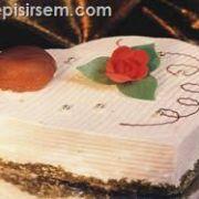 Kestaneli Kalp Pastası