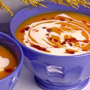 Baharatlı Balkabağı Çorbası
