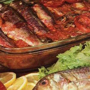 Domatesli Barbunya Balığı