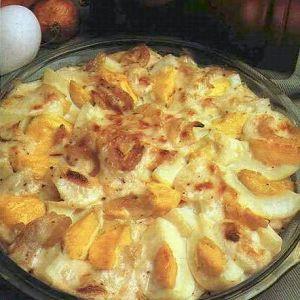 Fırında Soğanlı Yumurta