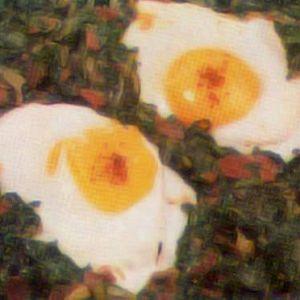 Fırında Yumurtalı Ispanak