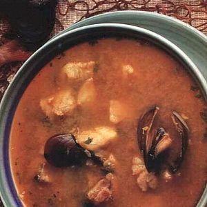Safranlı Balık Çorbası