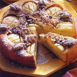 Cevizli Elma Pastası