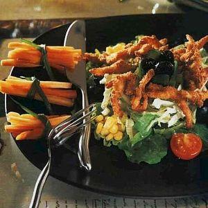 Çıtır Tavuk Salatası