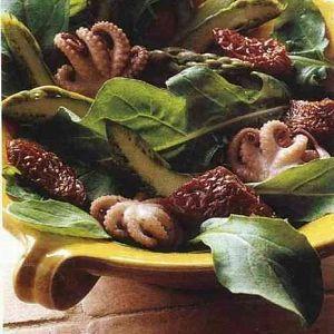 Ahtapot Kuşkonmaz ve Domates Salatası