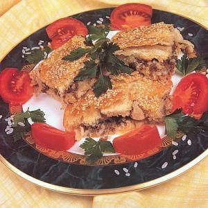 Kıymalı Pirinçli Börek
