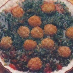 Köfteli Ispanak Yemeği
