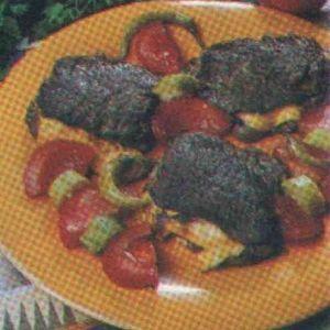 Mantarlı Kaşarlı Biftek