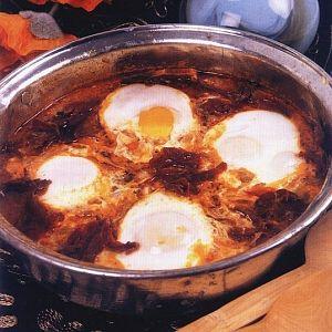 Pastırmalı Yumurtalı Kıyma