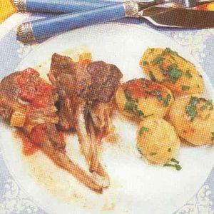 Patatesli Pirzola