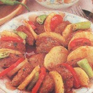 Patatesli Tepsi Kebabı