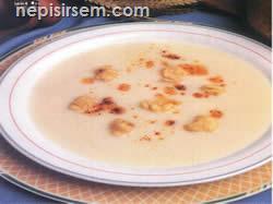 Yoğurtlu Tutmaç Çorbası (6 Kişilik tarif tarifi