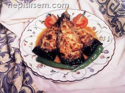 Piliçli Patlıcan Saltanat Kebabı (4 Kişilik) tarifi