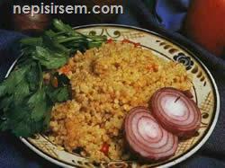 Sebzeli Bulgur Pilavı (4 Kişilik) tarifi