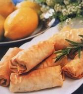 Sebzeli Sigara Böreği (4 Kişilik) tarifi