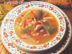 Soya Soslu Deniz Ürünleri Çorbası  tarifi