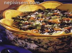 Bezelyeli Pirinç Salatası  tarifi