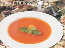 Fırınlanmış Domates Çorbası (6 KİŞİLİK) tarif tarifi