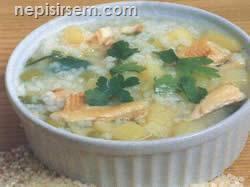 Füme Balık Çorbası  tarifi