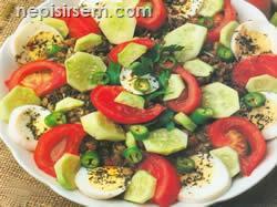 İç Açıcı Mercimek Salatası  tarifi