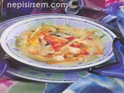 Fener Balığı Çorbası (4 KİŞİLİK) tarifi