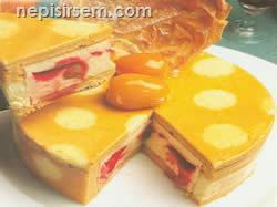 Kayısılı Pasta (10 Kişilik) tarifi