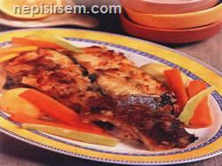 Balık Graten Sebzeli  tarifi